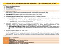 ROTEIRO PROVA PRÁTICA DE SEMIOLOGIA-CLÍNICA MÉDICA - INTERNATO