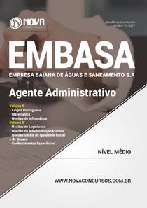 31125649 Apostila EMBASA  Agente Administrativo 2017  Nova Concursos