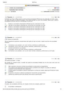 DIREITO EMPRESARIAL II Banco de questões av2 av3 avaliando aprendizado 2