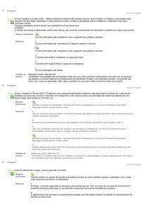 Administração do Relacionamento com o Cliente   Questionário II