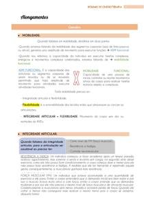 Alongamentos - Cinesioterapia - @eduardareisnafisio