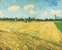 Vincent Willem van Gogh-Ploughed-Field