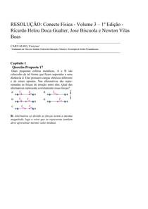 ESOLUÇÂO: Conecte Física 3 - Capitulo 1 - Questão Proposta 17