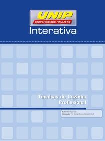 Livro Texto - Unidade I Tecnicas de cozinha profissional Unip