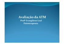 Avaliação da ATM