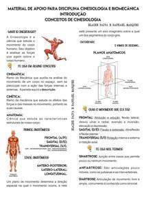 CINESIOLOGIA E BIOMECÂNICA - PLANOS, EIXOS E MOVIMENTOS- PROF RAPHAEL