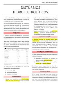 DISTÚRBIOS HIDROELETROLÍTICOS - Sódio e Potássio