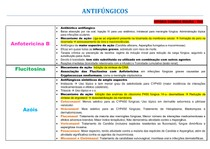 ANTIFÚNGICOS - Tabela