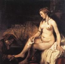 Rembrandt - Bathsheba Bathing