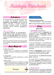 Fisiologia Menstrual