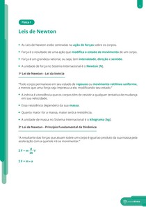 Leis de Newton - Resumo