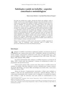 Cadernos de psicologia social do trabalho