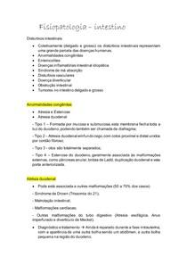 Fisiopatologia do intestino