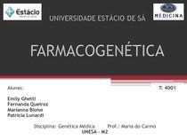 APRESENTAÇÃO FARMACOGENÉTICA