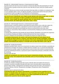 Discursiva Administração Financeira e o Gerenciamento de Capital e Gestão Orçamentária.docx