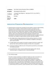 prova final (metodologia cientifica ) uniasselvi.docx