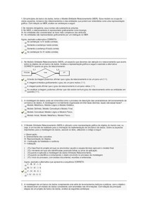 Princípio de banco de dados  prova final