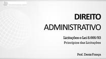 Princípios das licitações - Apresentação