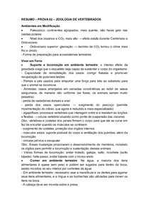 Prova 02 - Resumo - ZooVert
