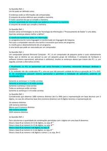 OrganizaçãoComputadores_Questionario