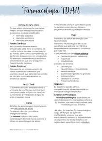 Farmacologia TDAH
