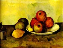 Paul Paul Cézanne - Still Life with Apples Red