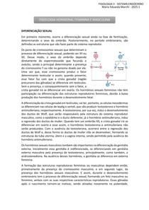 FISIOLOGIA II HORMONIOS MASCULINO E FEMININO