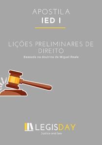 Apostila - Lições Preliminares do Direito - IED I