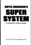 Doyle Brunson's Super System   A Course in Power Poker (Doyle Brunson)