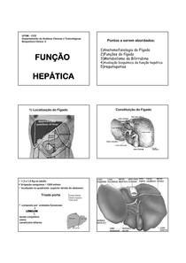 1 - Função Hepática