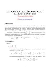 RESOLUÇÕES DE EXERCÍCIOS SEÇÃO 6.3  - LIVRO UM CURSO DE CALCULO VOL 1- HAMILTOM GUIDORRIZI
