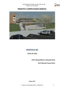 Projeto e Computação Gráfica-Apostila Módulo 2D