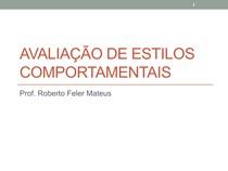 LIDERANÇA E DESENVOLVIMENTO DE EQUIPES - Aula 05