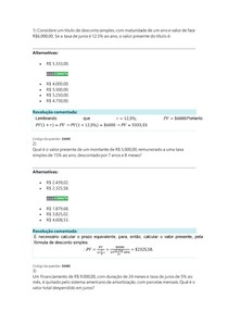 Gestão financeira quantitativa básica