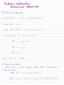 Exercícios resolvidos de Indução Matemática - 01