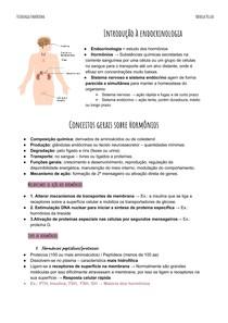 Resumo Fisiologia Endócrina