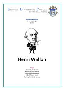 HENRI WALLON - RESUMO OFICIAL