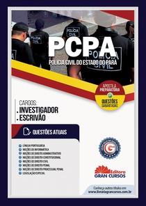 Apostila preparatória para o concurso da Polícia Civil do estado do Pará  (Agente e Escrivão)