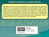 custeioVariavel