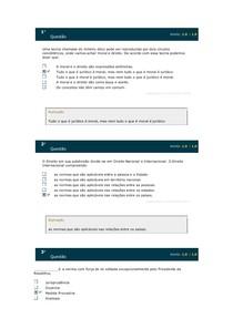 FUNDAMENTOS DE DIREITO DO CONSUMIDOR SIMULADO
