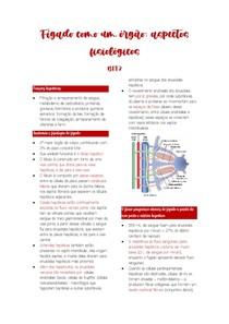 Aspectos fisiológicos do fígado