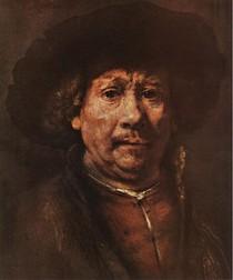 Rembrandt - Self Portrait Rembrandt