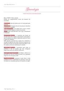 Aspectos éticos em ginecologia