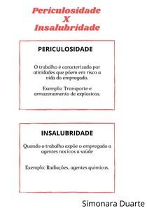 Periculosidade X Insalubridade (1)