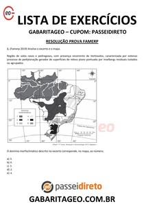 RESOLUÇÃO PROVA VESTIBULAR - FAMERP EXCLUSIVO 01