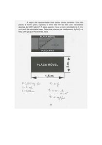 Tarefa 1 Fenômenos de transporte Engenharia UNIP 2/3° Semestre