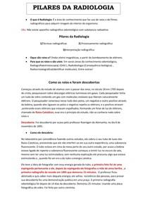 PILARES DA RADIOLOGIA