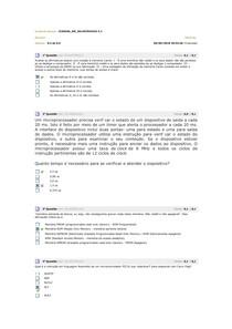 avaliando 4 sitema a microprocessadores