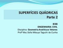 6 - Superfícies Quádricas II (Hiperbolóides e Parabolóides)
