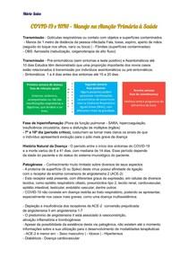 COVID-19 e H1N1 Manejo na Atenção Primária à Saúde - MS